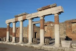 Columns along the Forum 2
