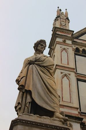 Basilica di Santa Croce Dante Statue