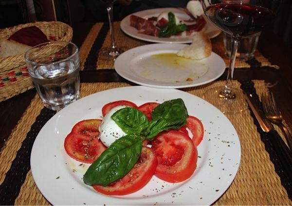 Lunch Caprese Salad