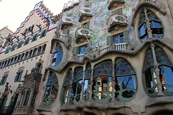 Casa Batllo and Casa Amatller
