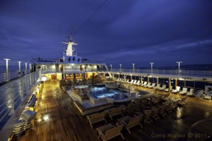 Regatta Deck Night - Panama