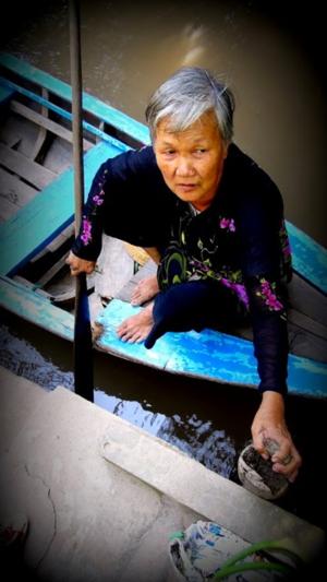 Vietnam Canal Cruise Paddler