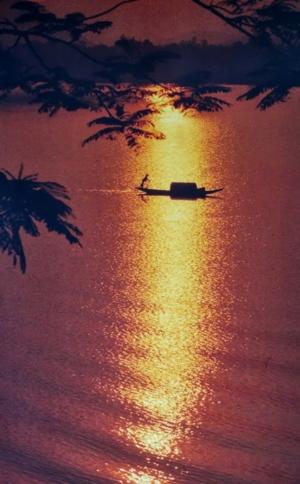 Mekong River Dusk