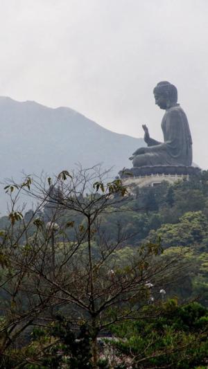 Ngong Ping Tian Tan Buddha-Hong Kong
