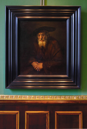 Hermitage Rembrandt Portrait of an Old Jew
