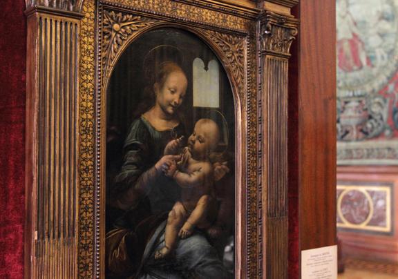 Hermitage da Vinci Benois Madonna
